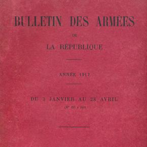 Bulletin des armées de la République