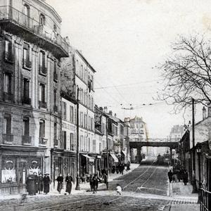 La rue du Port au début du 20e siècle