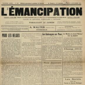 Presse locale : L'Emancipation