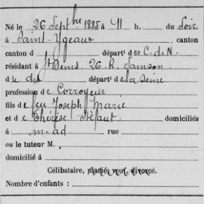 Les registres de recensement militaire