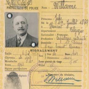 collecte des archives : fonds Jules Willame