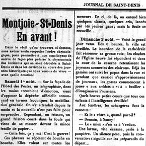 La mobilisation d'août 1914, une fête ou une catastrophe ?