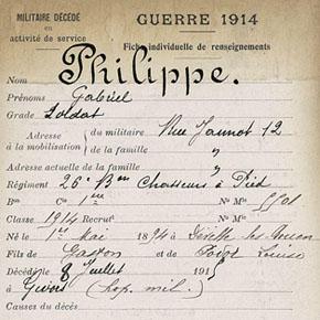 Gabriel Philippe, le fils du maire