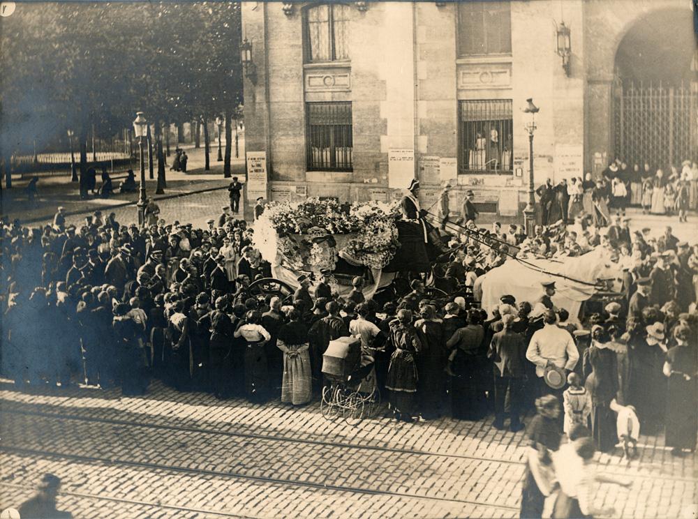 Obsèques de Gabriel Philippe à Saint-Denis