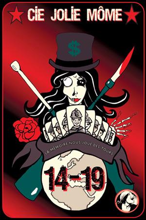 Spectacle de la Compagnie Jolie Môme, affiche 14/19 - La mémoire nous joue des tours