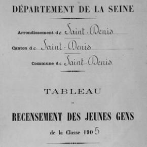 registre recensement
