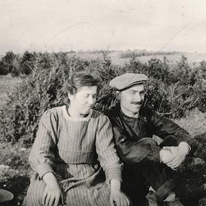 Louise et son mari Abel