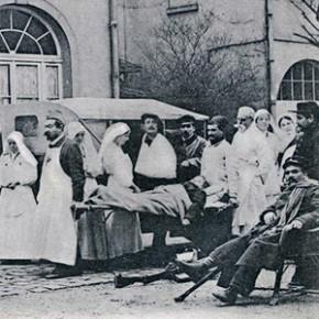 Hôpitaux de l'arrière